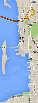 Harbor Shoreline Google Map
